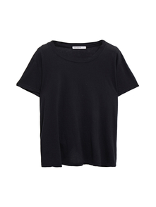 Woman Cotton-jersey T-shirt Black Size S Stateside. Купить за 2950 руб. - T-shirt Cotton-jersey Slips on Stretchy fabric Mid-weight fabric Machi...