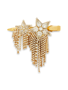 Woman Braidynn Hematite-plated Swarovski Crystal Hair Slide Gold Size -- Elizabeth Cole. Купить за 6500 руб. - Hair slide Gold-tone Hematite-plated Swarovski® crystals