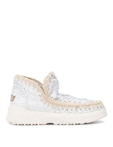 Mou Eskimo Sequinned Ankle Boots MUSW201000G
