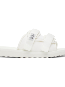 Suicoke White Moto-cab Sandals 29561289