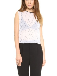 Alice + Olivia Top V Goroshek 1745071