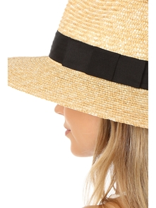 Joanna Hat Brixton. Купить за 2475 руб. - A Brixton straw hat with a wide grosgrain band. Shell: 100% straw Spot...