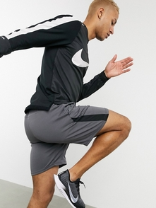 Nike Running Chernyy Top S Molniey Element 27957200