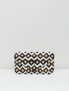 Clutch Me By Q Sumka-klatch S Printom I Biserom - Multi 19614813