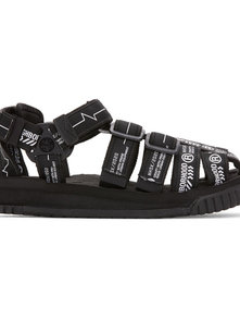Neighborhood Black Shaka Edition Hiker Sandals 29306678
