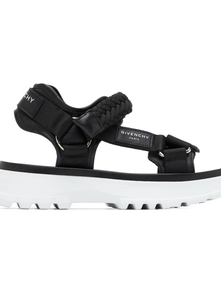 Givenchy Black Spectre Sandals 29869099