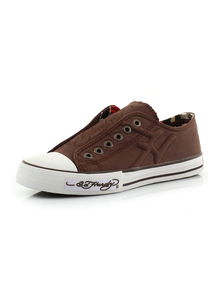 Ed Hardy Snikersy 10SDK108M BROWN