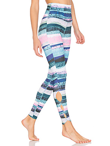 Beyond Yoga Dlinnye Legginsy S Printom Lux LP3027