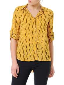 Dewberry Shirt 2160001Z6041_MUSTARD