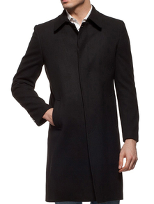 Dewberry Overcoat 10213KPL3105_BLACK