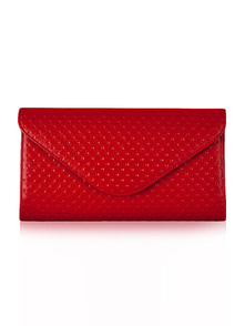 Felice Klatch FELICE_CLUTCH_BAG_F04B_RED RED